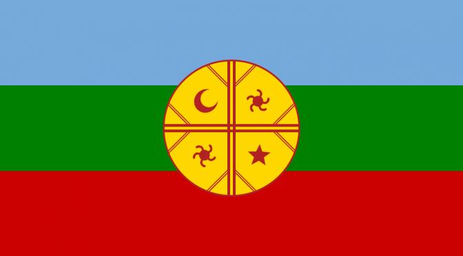 flag mapuche